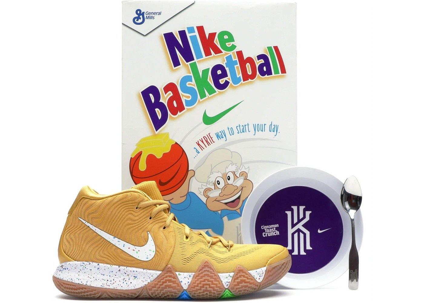 """General Mills x Nike Kyrie 4 """"Cereal Pack&rdquo"""