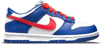 """Nike Dunk Low """"Mismatched Swoosh"""" GS CW1590-104"""