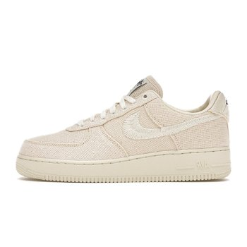 """Nike Stussy x Air Force 1 Low """"Fossil"""" CZ9084-200"""