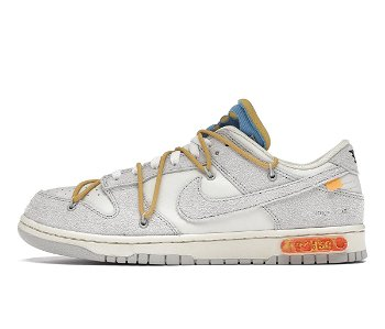 """Nike Off-White x Dunk Low """"Lot 34 of 50"""" DJ0950-102"""