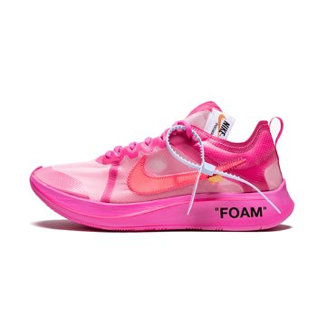 """Nike Off-White x Zoom Fly SP """"Tulip Pink"""" AJ4588-600"""