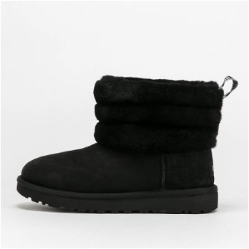 """UGG Fluff Mini Quilted """"Black"""" W 1098533 BLK"""